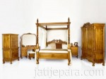 Kamar Set Chipendle Mahogany Furniture