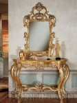 Luxurious gold style vanity set