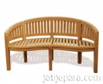 Banana Bench teak garden furniture