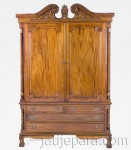Chipendelle Armoire 2 Door Classic French Furniture