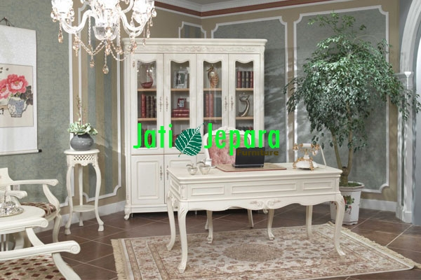 Bookcase And Office Desk Indonesian Furniture, Bookcase Indonesian Furniture