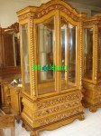 Display Cabinet Jati Jepara