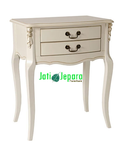 White Painted Telephone Desk
