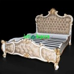 French Gold Bed Rococo