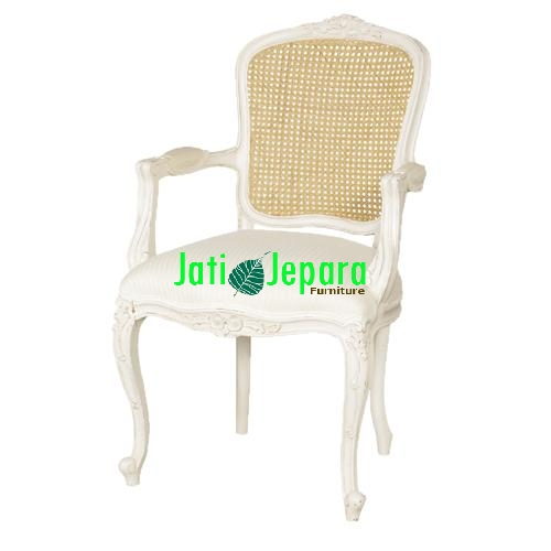 White French Carver Chair