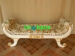 Bangku Emas, Bench Gold Leaf 2 Seater