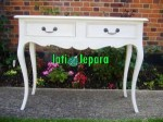 White French Console Table