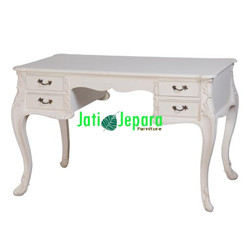 White French Desk with Drawers