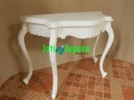 Meja Konsul White Painted