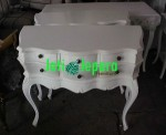 Dresser 6 Drawer White Painted Jacky