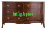 Dresser Pengantin 6 Drawer