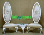 High Back Oval Chairs