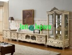 Entertaintment TV Cabinet French Crem