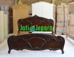 French Bed Classic Mahogany