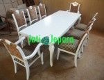 Kursi Makan French Flower 8 Seater