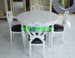 Kursi Makan 4 Seater French