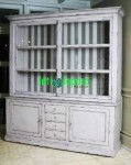 Almari Buku French White BCF 24
