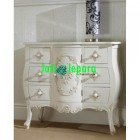 Nakas Bombay 6 Laci French White BF 23