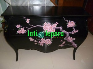 Nakas Tree Drawer Lukis