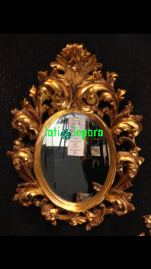 Mirror Gold Mewah Angelin