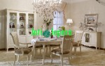 Dining Room Set French Style Mewah DR 01