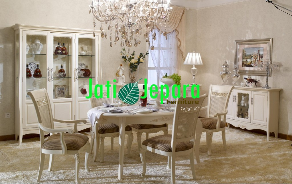 Dinning Room French Style Mewah DR 01