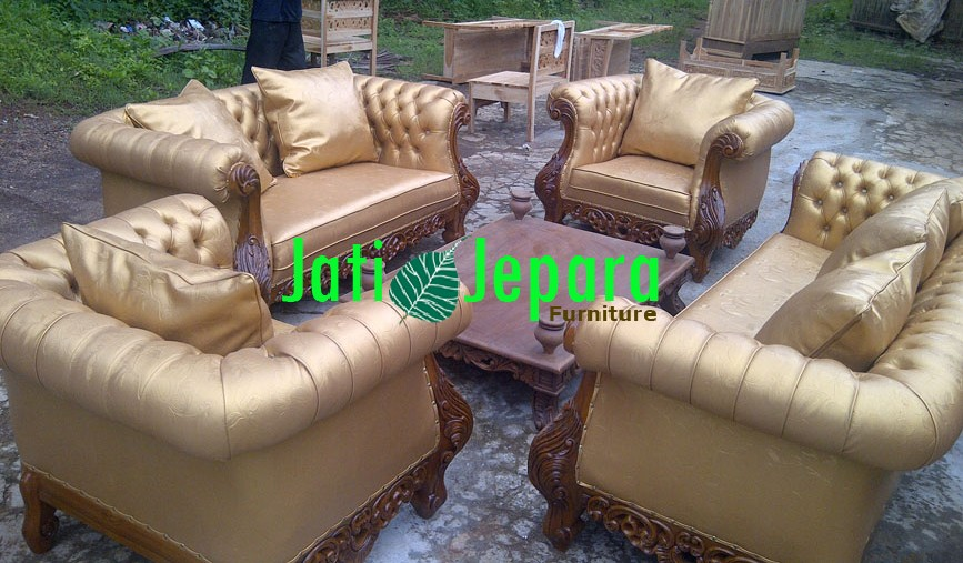 Living Room Set Mewah Jati LSM 32