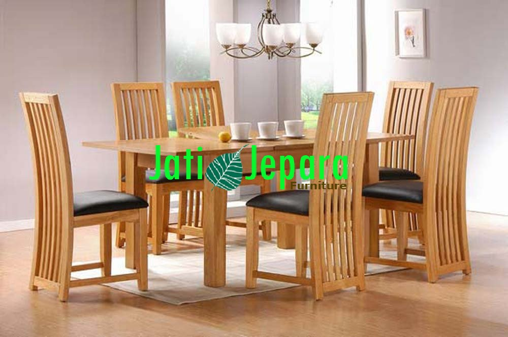 Meja Makan Teak Wood Minimalis MM 04